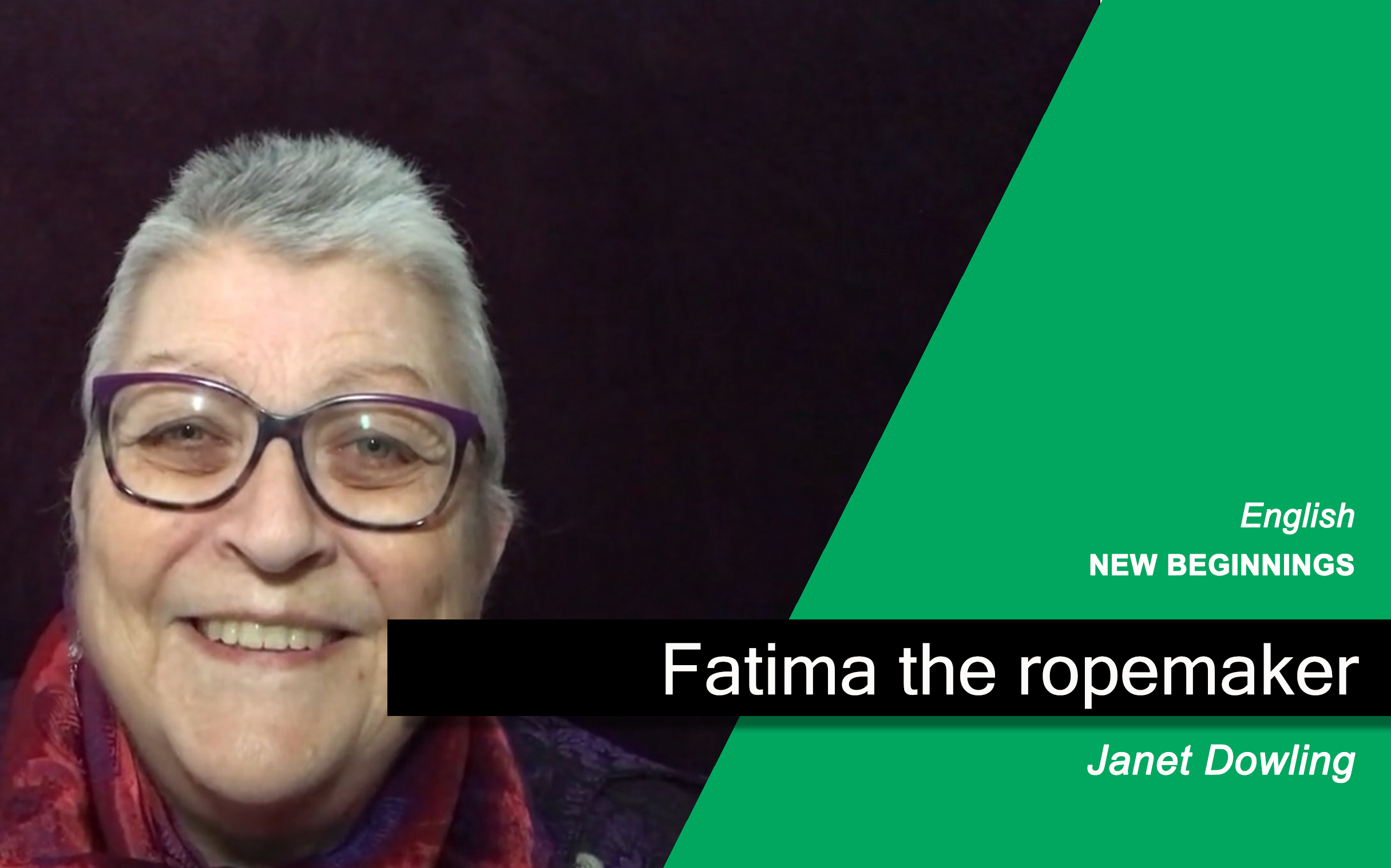 Fatima the Rope-maker
